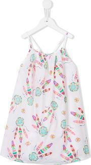 Sunuva , Dreamcatcher Print Strappy Dress Kids Cotton 2 Yrs