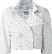 Chanel Vintage , Textured Cropped Jacket