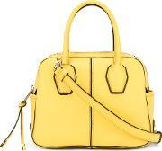 Tods , Tod's Mini Nuovo Miky Tote Women Leather One Size, Women's, Yelloworange