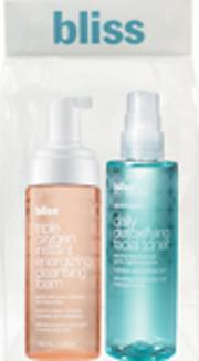 Bliss , Basic 'skin'-stinct Triple Oxygen Cleanser Toner Duo