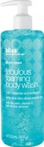 Bliss , Fabulous Foaming Body Wash 473 2ml