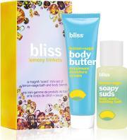 Bliss , Lemony Trinkets Gift Set