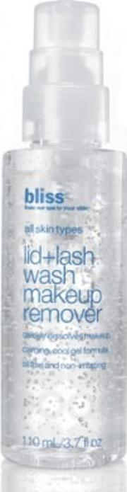 Bliss , Lid Lash Wash Makeup Remover 110ml