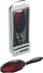 Kent , Large Black Porcupine Cushion Brush Csml