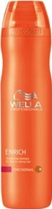 Wella Professionals , Enrich Volumising Shampoo For Fine To Normal Hair 250ml