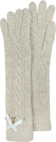 Patrizia Pepe , Long Wool Blend Women S Gloves