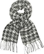 Coveri Collection , Wool Fringed Long Scarf