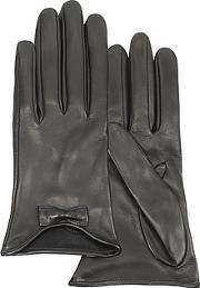 Forzieri ,  Leather Gloves With Bow