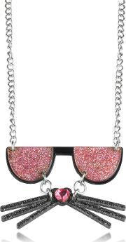 Karl Lagerfeld , Kkocktail Necklace Wglitter Effect