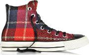 Converse Limited Edition , All Star Hi Checked Fabric Sneaker