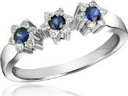 Incanto Royale , Sapphire And Diamond 18k Gold Ring