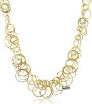 Orlando Orlandini , Scintille Diamond 18k Yellow Gold Chain Necklace