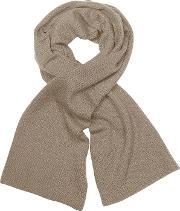 Coveri Collection , Solid Cashmere Long Scarf