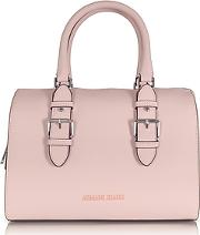 Armani Jeans ,  New Light Pink Eco Leather Satchel Bag