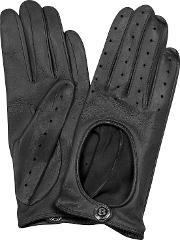 Bentley , Dents Pittards Cabretta Black Driving Ladies Gloves