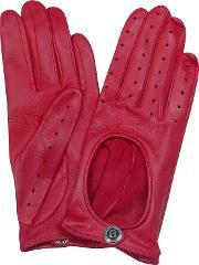 Bentley , Dents Pittards Cabretta Red Driving Ladies Gloves