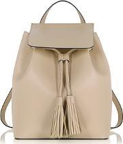 Le Parmentier ,  Nude Leather Backpack
