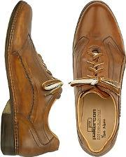 Pakerson ,  Brown Italian Handmade Leather Lace-up Shoes