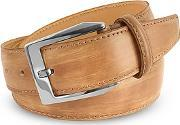 Pakerson ,  Men's Sand Hand Painted Italian Leather Belt