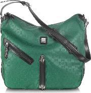 Piero Guidi , Every Boly Green Angel Printed Shoulder Bag