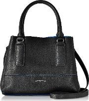 Roccobarocco , Rb Honore Black Mini Tote Bag
