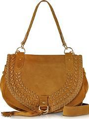 See By Chlo ,  Collins Passito Suede Shoulder Bag Wtassels