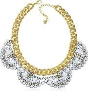 Juicy Couture , Flower Cluster Collar Necklace