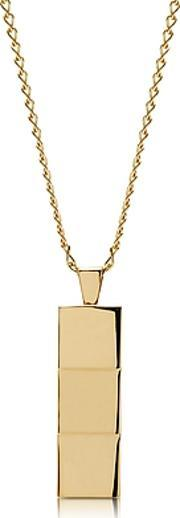 Northskull ,  Layers Gold-tone Necklace