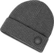 Dsquared2 , Cable Knit Wool Men's Hat