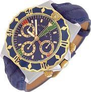 Julius Legend , Ulysses Diver Gold And Stainless Steel Chronograph