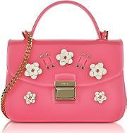 Furla ,  Candy Lilla Rose Jelly Rubber Mini Bag