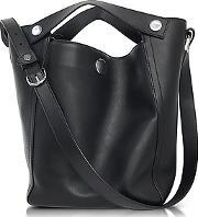 31 Phillip Lim , 3.1 Phillip Lim - Dolly Black Leather Large Tote
