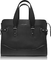 Marc Jacobs ,  The Rivet Black Leather Tote