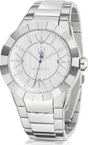 Maserati , Tridente Stainless Steel Men S Watch