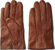 Gant , Nappa Gloves Golden Beige