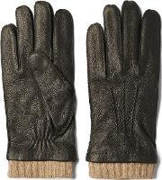 Gant , Deerskin Gloves Black