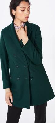 Gant , Double Breasted Coat Nordic Forrest