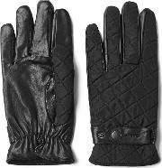 Gant , Quilted Gloves Black