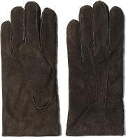 Gant , Suede Gloves Dark Brown