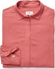 Gant , Featherweight Twill Blouse Faded Rose