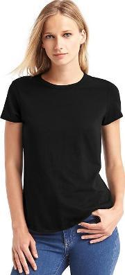 Gap , Vintage Wash Crewneck Tee True Black