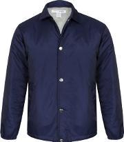 Comme Des Garcons Shirt Boy , Premium Coach Jacket Padded Navy