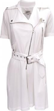 Jean Paul Gaultier , Zipped Jump Playsuit Off White