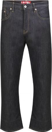 Junya Watanabe Man For Comme Des Garcons , Levi Collaboration Selvedge Jeans Navy