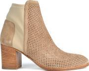 Elia B , Easy City Ankle Boots, Beige