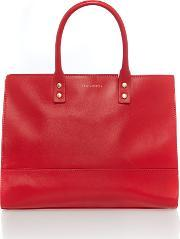 Lulu Guinness , Daphne Large Tote Bag, Red