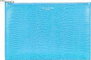 Aspinal Of London , Essential Pouch Large, Aquamarine