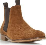 Bertie , Cole Double Pull Up Tab Chelsea Boots, Tan