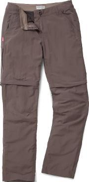 Craghoppers , Nosilife Convertible Trousers, Coffee
