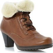 Gabor , Cosmic Fold Down Warm Lined Boots, Tan